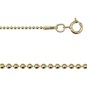 gold-filled bead chain