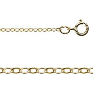 gold-filled link chain