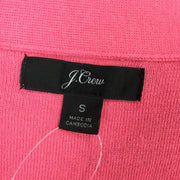J. Crew Pink V-Neck Front Button Cardigan