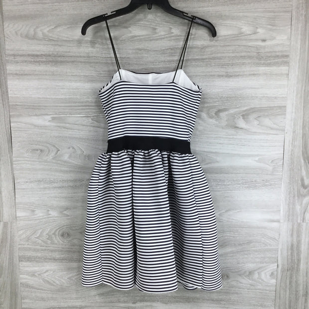 Love...Ady Striped Sleeveless Fit & Flare Dress