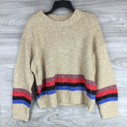 Treasure & Bond Striped Knit Sweater