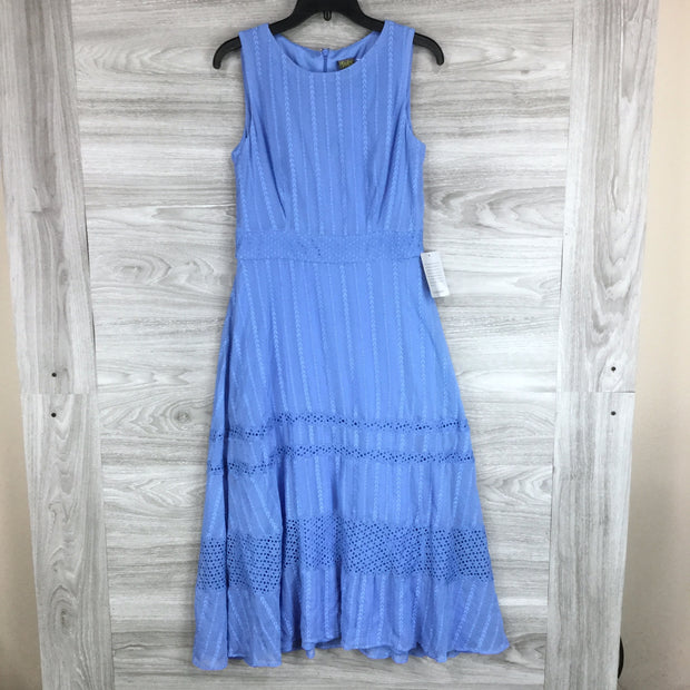 Taylor Electric Blue Sleeveless Dress