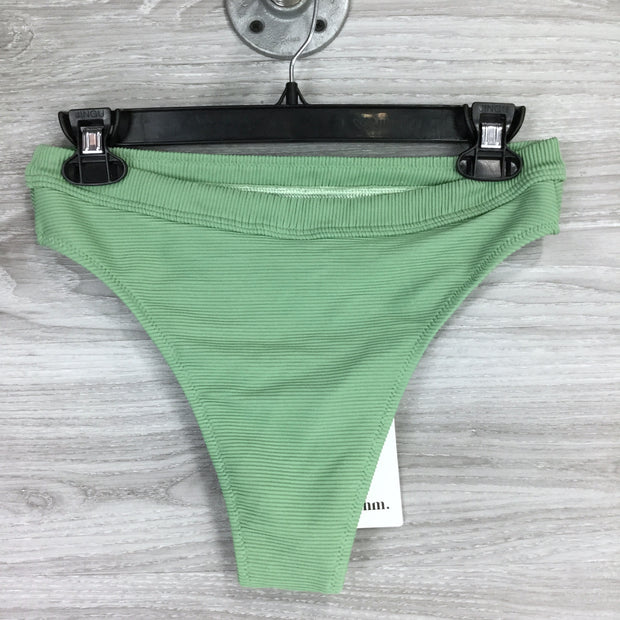 Rhythm Green Ribbed Bikini Bottom