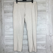 Amanda + Chelsea Heather Tan Contemporary Fit Narrow Leg Pants