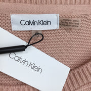 Calvin Klein Pink Knitted Sweater