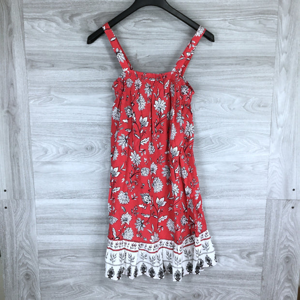 Beachlunchlounge Sleeveless Floral Dress Cover-up