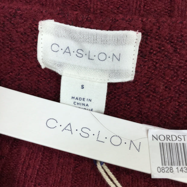 Caslon Snap Button Side Sweater