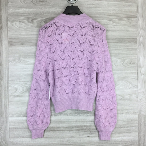 ASTR The Label Knit Bell Sleeve Sweater