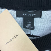 Halogen Crew Neck Front Button Cardigan Sweater