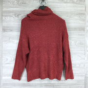 Catherine Brick Turtleneck Sweater