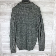 Weatherproof Charcoal Heather Knit Sweater
