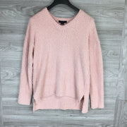 Sanctuary V-Neck Teddy Sweater