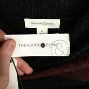 Treasure & Bond Brown Decadent -Grey Sweater