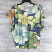Go Couture Floral Patterned Blouse