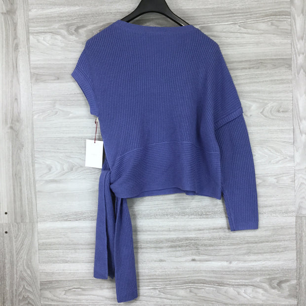 Lewit Asymmetrical Merino Wool Sweater