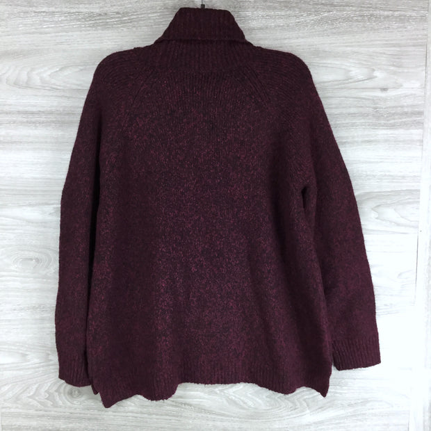 Michael Kors Burgandy Turtleneck Sweater