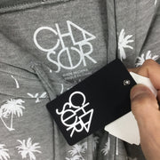Chaser Palm Trees Crop Hoodie