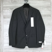 Calvin Klein Slim Fit Two Button Solid Suit