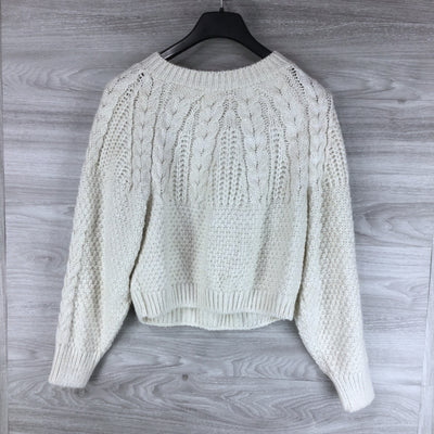 Topshop Knit Pullover Sweater