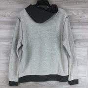 Slate & Stone Hooded Colorblock Knit Sweater