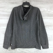 Z by Zella Black Oxide Melange Sweater