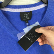 Qi Cashmere V Neck Sweater