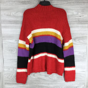 Sanctuary Knitted Mix Stripe Sweater