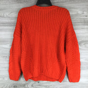 One A Cable Knit Sweater