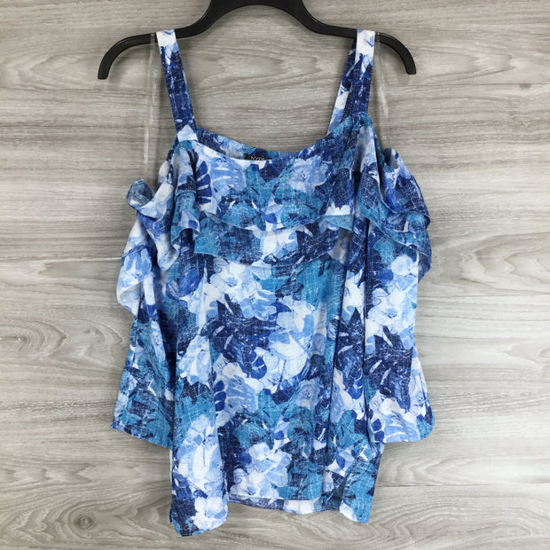 NYDJ Cold Shoulder Top