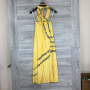 Go Couture Yellow Maxi Dress