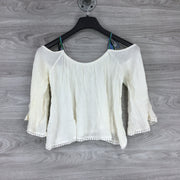 Cupcakes and Cashmere Cold Shoulder Top