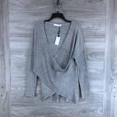 ASTR Wrap Front Sweater