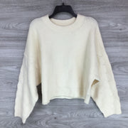 Topshop Heavy Knit Crew Neck Sweater