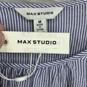 Max Studio Striped Bell Sleeve Blouse