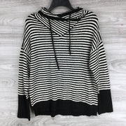 Philosophy Apparel Striped Funnel Neck Pullover