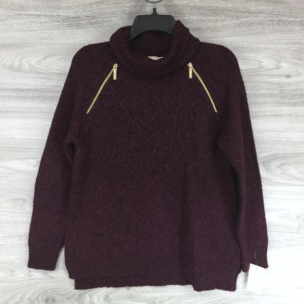 Michael Kors Burgandy Turtle Neck