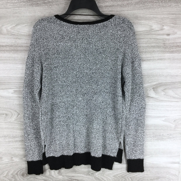 Ady P Marled Boucle Pullover Sweater