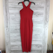 Love...Ady Sleeveless V Neck Jumpsuit