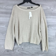 RDI Open Stitch Pullover Sweater