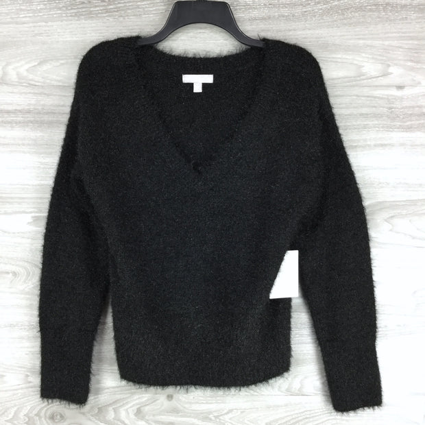 Chelsea28 Sparkle Knit V Neck Sweater