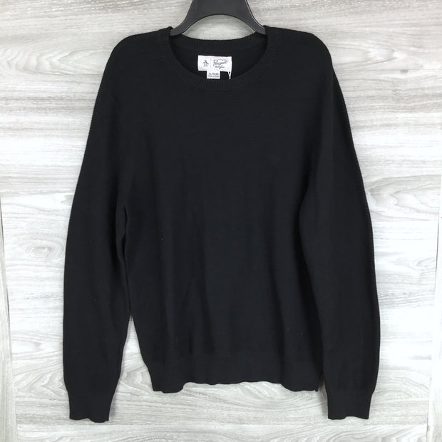 Penguin Original Black Crewneck Sweater