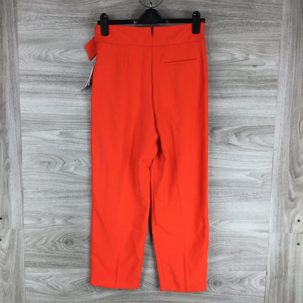 Topshop Wilma Belt Peg Tapered Trousers