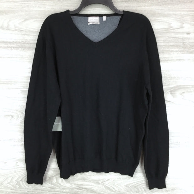 Hickey Freeman V Neck Long Sleeve Sweater