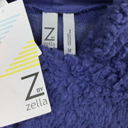 Z By Zella Blue Sheila Fleece Hooded Pullover