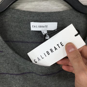 CALIBRATE Stripe Crewneck Sweater