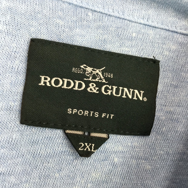 Rood & Gunn Timber Bay Linen Blend Polo