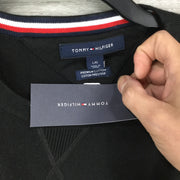 Tommy Hilfiger Black Pullover Sweater