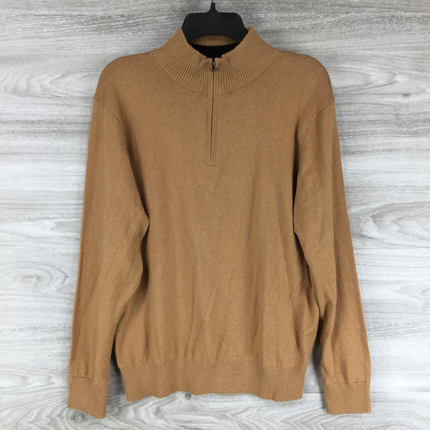 Tailorbyrd Wool Quarterzip Sweater