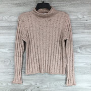 Madewell Cowl Neck Wide Ribbed Sweater
