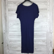 The Vanity Room Front Tie Midi Dress
